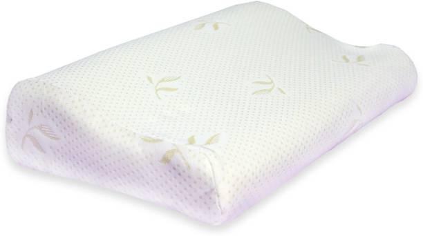 Sampri Cotton, Memory Foam Abstract Sleeping Pillow Pack of 1