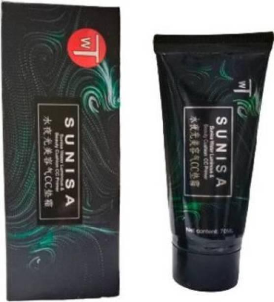 ABADRO CC Air Cushion Primer Korean Mushroom Head Cosmetic Waterproof Primer - 70 ml (transparent) Primer - 70 ml (BLACK) Primer  - 70 ml