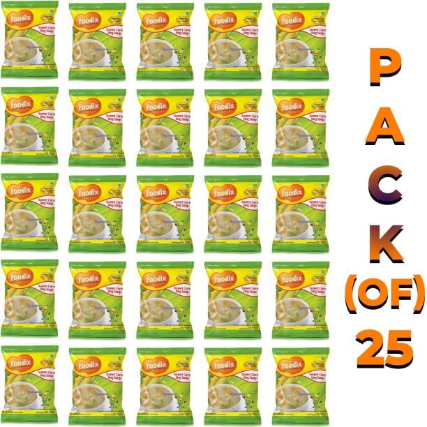 Foodix Sweet Corn Soup Mix -48g (Pack of 7) 336 g