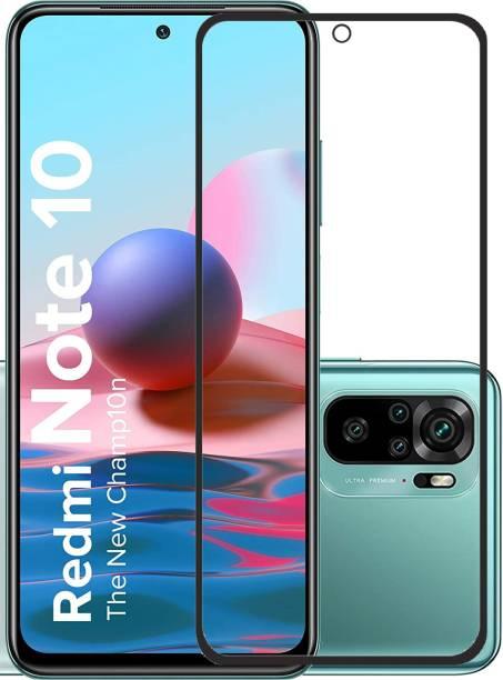 Temperia Edge To Edge Tempered Glass for Mi Redmi Note 10, Mi Redmi Note 10s