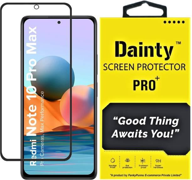 Dainty TECH Edge To Edge Tempered Glass for Mi Redmi Note 10 Pro, Mi Redmi Note 10 Pro Max, Samsung Galaxy M51, Samsung Galaxy M52 5G, Mi Redmi Note 9 Pro, Mi Redmi Note 9 Pro Max
