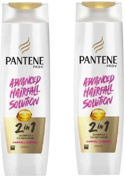 PANTENE Advance hair fall solution 2in 1 shamppo+conditioner hairfall control pack of 2