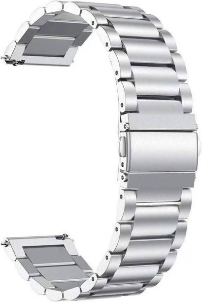 V-TAN Ultra Luxury Stainless Steel Metal Chain Strap with Adjustable Magnetic Closure 20mm Band for Samsung Watch Active/Active 2, Huwei GT2,AmzeFit,VvoActive 3 & Any Smart Watch with 20mm Lugs Smart Watch Strap