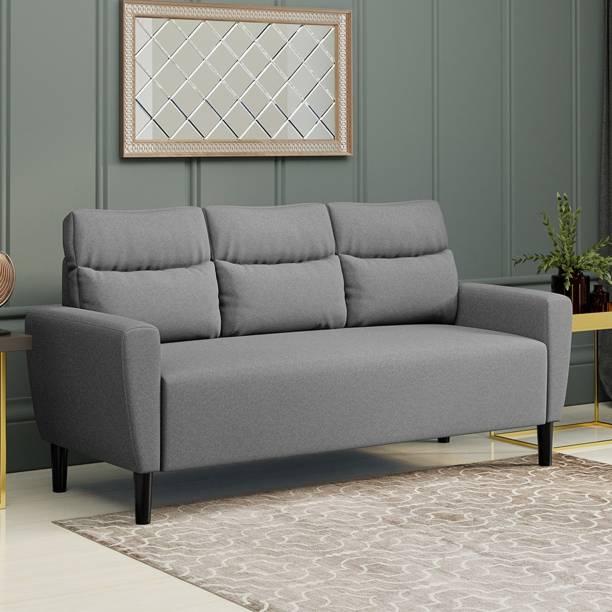 Flipkart Perfect Homes Julia Fabric 3 Seater  Sofa