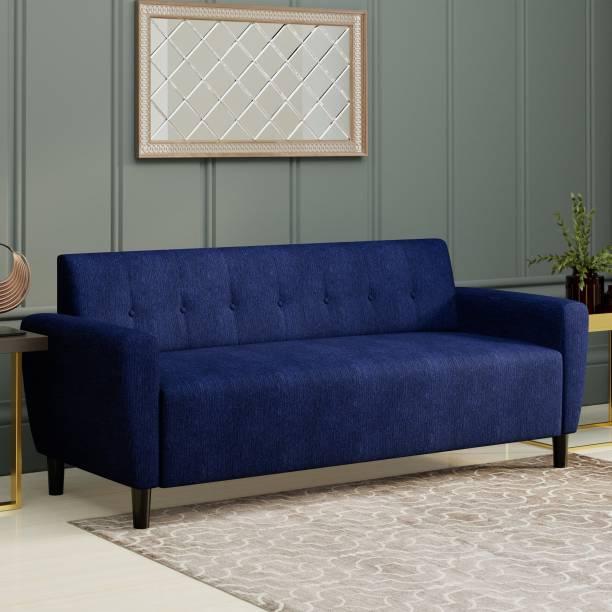 Flipkart Perfect Homes Felix Fabric 3 Seater  Sofa