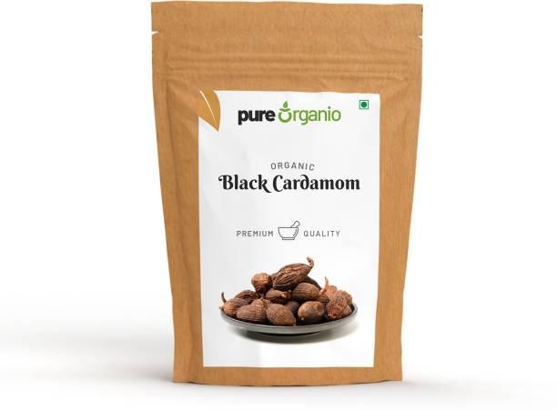 Pure Organio Organic Black Cardamom - Badi Elaichi