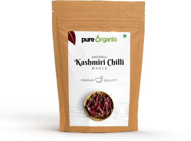 Pure Organio Orgainc Kashmiri Chilli Whole