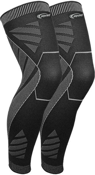 Joyfit Calf Compression Sleeves for Running, Gym, Fitness Workouts & Pain Relief-Premium Knee, Calf & Thigh Support