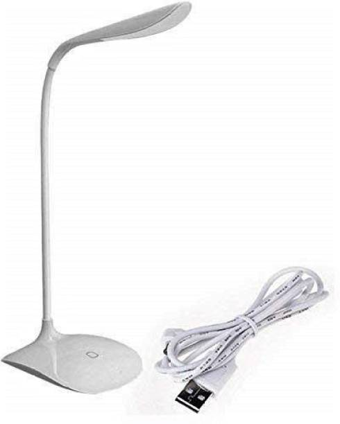 Happysome Rechargeable & flexible LED Table Lamp With 3 Level of Brightness Flexible Neck Study Lamp