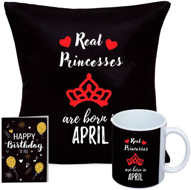 Kaameri Bazaar Cushion, Mug, Greeting Card Gift Set