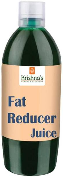 Krishna's Herbal & Ayurveda Fat Reducer Juice | Pure Ayurvedic and Natural | Lose Weight Naturally | Improves Digestion | Strengthen Muscles | Helps Controlling Cholesterol | Consume Atleast 20 Days for Best Results