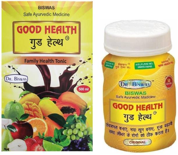 Dr. Biswas Good Health Capsule and Tonic for Strong Immunity and Increasing Your Appetite