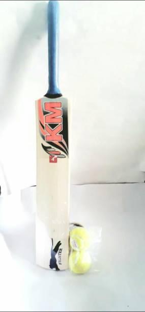 shri shyam traders combo pack of cricket bat 4no. with 2ball Cricket Kit