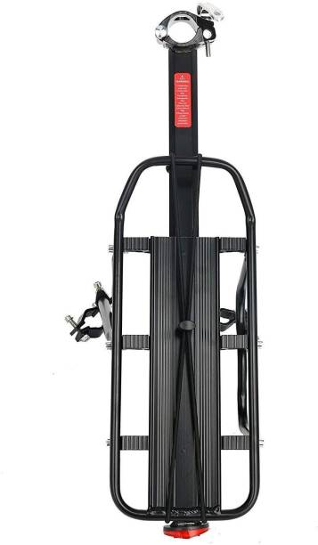 Xezon Bicycle Universal fit Height Adjustable Feature Heavy Load Capacity Solid Build Aluminium, Steel  Bicycle Carrier