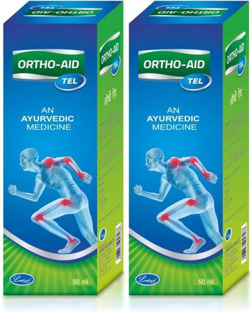 Leeford Ortho-Aid Oil ( Pack of 2, 50 Ml Each) Liquid