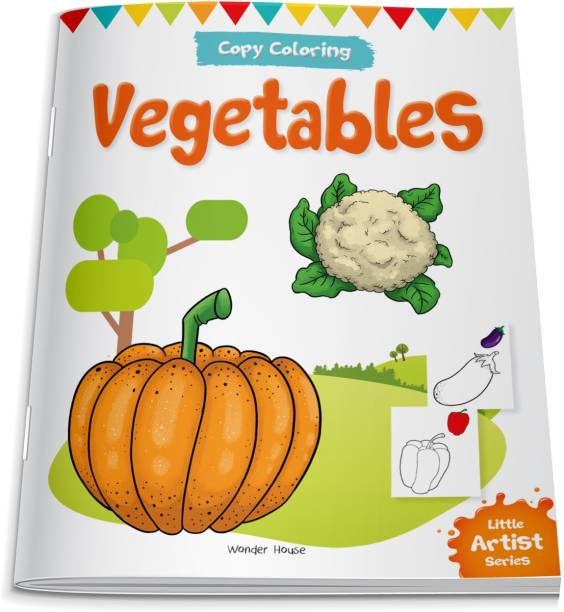 Little Artist Series Vegetables - By Miss & Chief