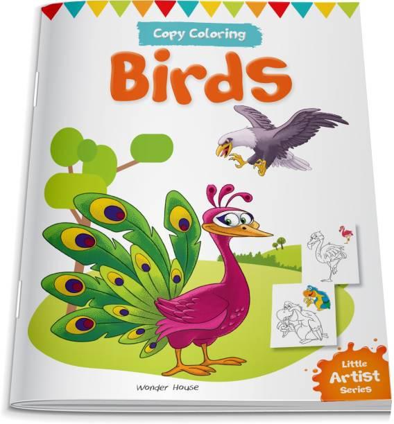 Little Artist Series Birds - By Miss & Chief