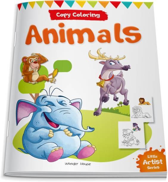 Little Artist Series Animals - By Miss & Chief