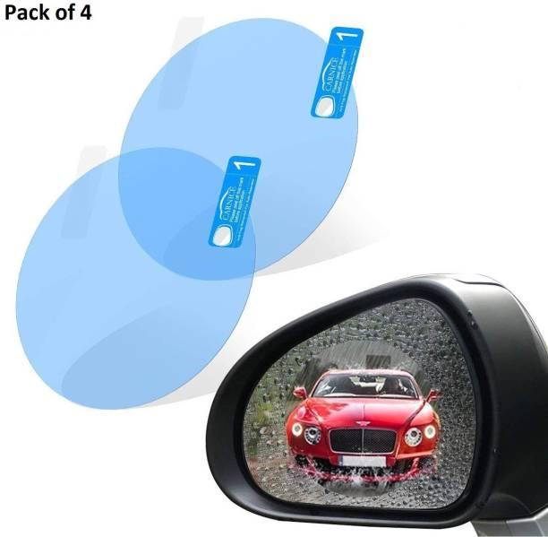 Welrock Rainproof Waterproof Mirror Window Film Protector Safe Driving for Car Mirrors 4pcs - BLUE Car Mirror Rain Blocker
