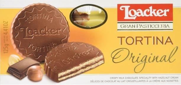 LOACKER Gran Pasticceria Original Milk Chocolate Wafer Cream Filled