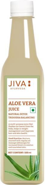 Jiva Aloe Vera Juice - Purifies Blood and Boosts Immunity - 500ml | Pack of 1