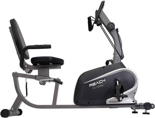 Reach Classic Recumbent Bike Exercise Cycle with Comfortable Back Support Seat Recumbent Stationary Exercise Bike