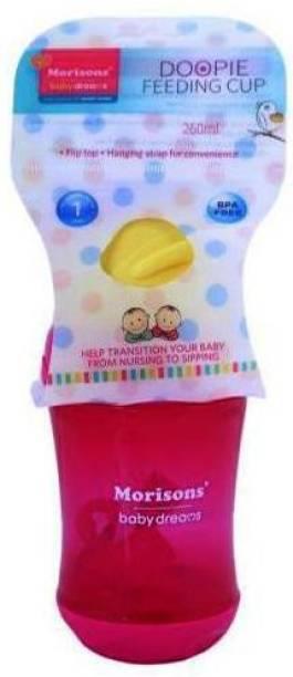 Morisons Baby Dreams Doopie Feeding Cup-Pink  - Polypropelyne