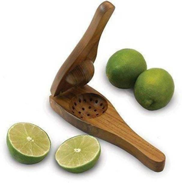 ABKRAFTS Wood Hand Juicer Wood Hand Juicer WOODEN PREMIUM HAND JUICER / LEMON SQUEEZER MADE OF SOLID WOOD