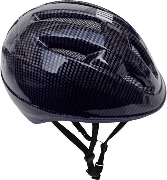 Jaspo Outdoor Sport Bicycle Cycling Helmet for Boys & Girls - Carbon Graphite (Medium) Cycling Helmet