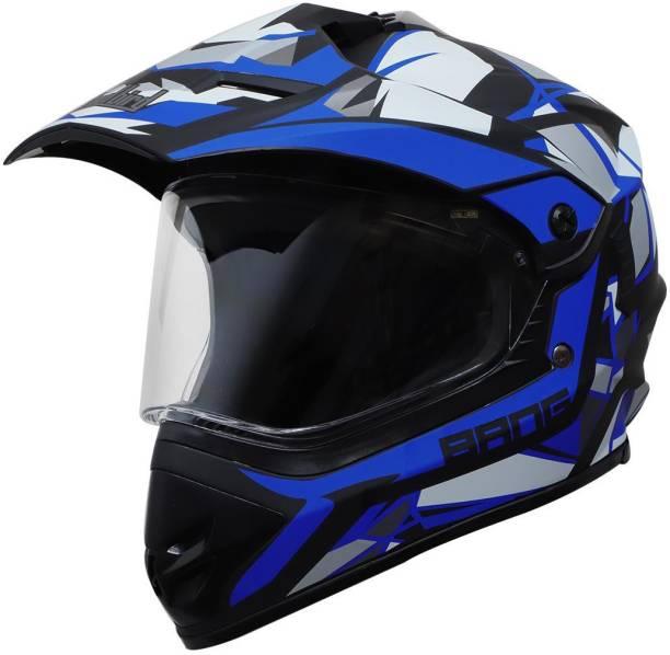 Steelbird Off Road Bang KTN ISI Certified Motocross Full Face Helmet Motorbike Helmet