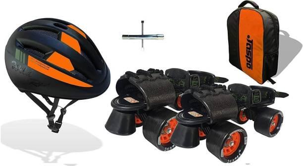 Jaspo Insane Adjustable Roller Blade Skates Suitable for Age Group (6-14 Years) Skating Kit