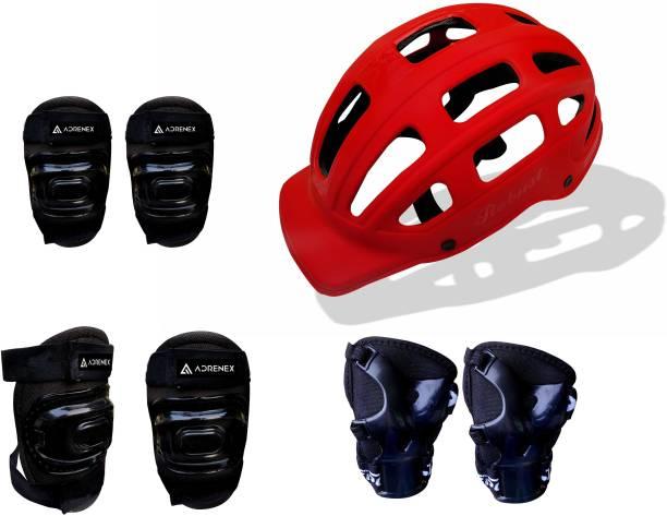 Adrenex by Flipkart Skateboard Starter Safety Kit - Medium Skating Kit