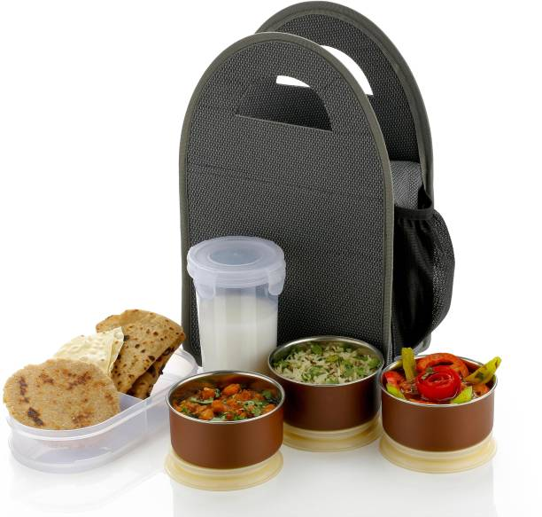 Flipkart SmartBuy Premium Lunch box For School Office & College 6 Containers Lunch Box