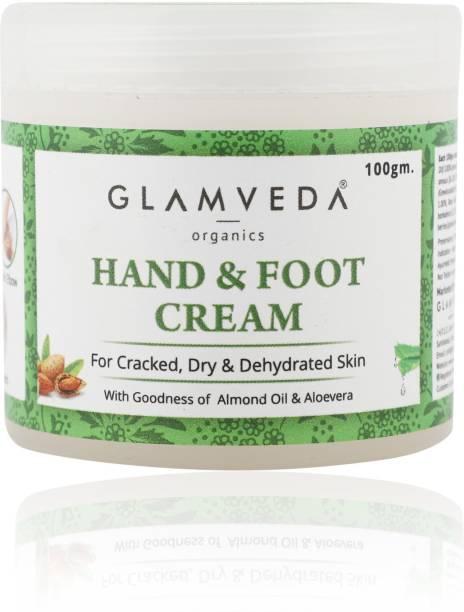 GLAMVEDA Hand & Foot Crack Cream | Paraben Free
