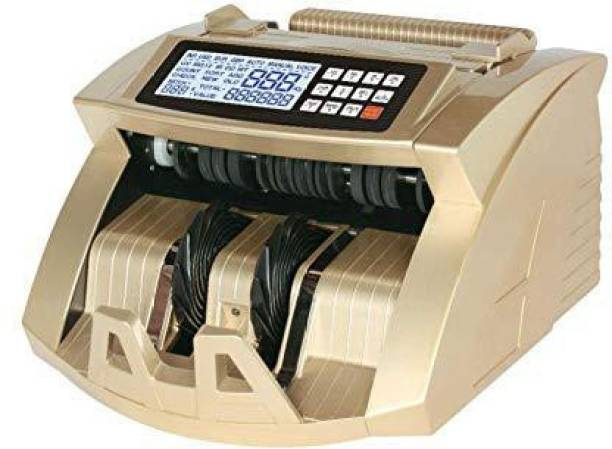 SWAGGERS LCD Display Money Bill Counter Counting Machine Counterfeit Detector UV & MG Cash Bank Detector Note Counting Machine Note Counting Machine