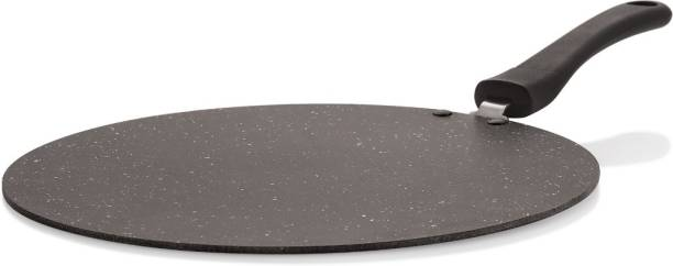 iVBOX 4mm Super Flat Tawa Non-Stick With Outer Hard-Stone Coating Tawa 30 cm diameter