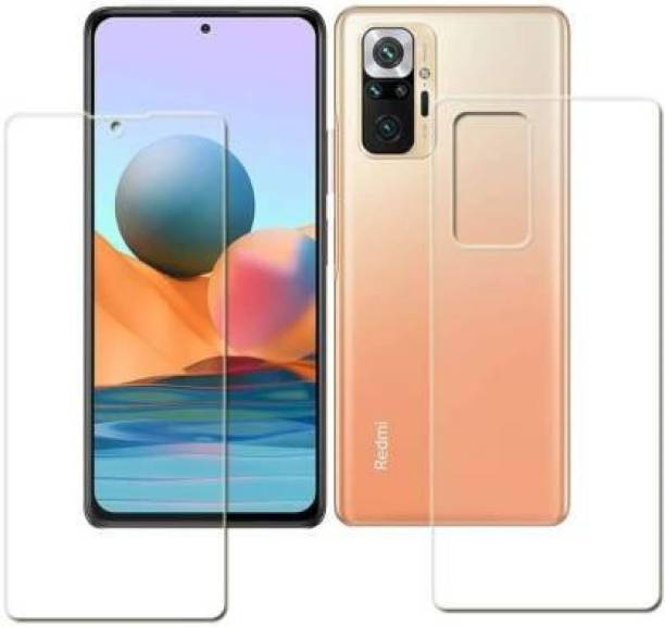 PR SMART Front and Back Tempered Glass for Redmi Note 10 Pro Max