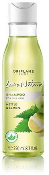 Oriflame love nature shampoo for oily hair with nettle and lemon