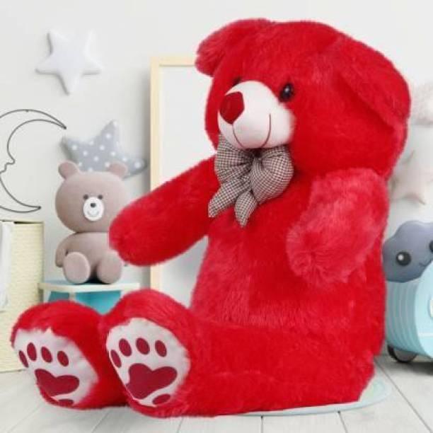 Mrbear 3 Feet Cute Bootsy Red 91 Cm 3 feet Huggable And Loveable  - 91 cm