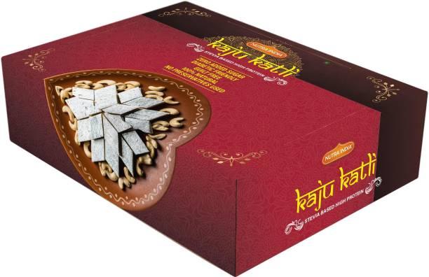 Nutra India Diabetic Friendly No Added Sugar Keto Kaju Katli Tray
