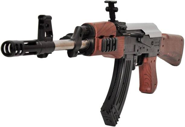 Miss & Chief Ak 47 Toy Gun/ Shooting Gun for Kids with Laser Light and 500 Bullets Guns & Darts