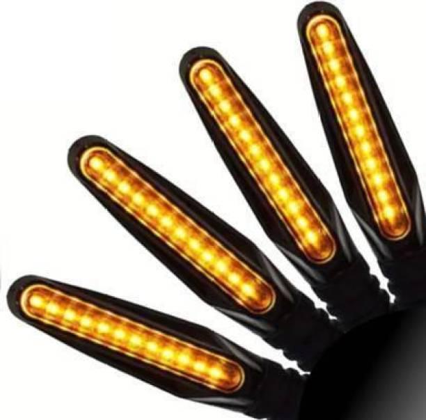Z BEAUTY Side, Rear LED Indicator Light for KTM, Yamaha, Bullet, Yamaha Apache 220, Passion, Pulsar, Pulsar 150 DTS-i, Passion Pro