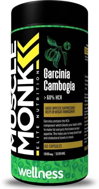 MuscleMonk Garcinia Cambogia - Manage Weight Naturally with 60% HCA
