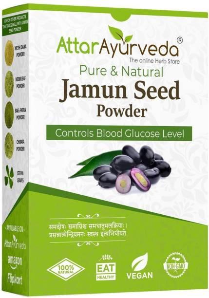 Attar Ayurveda Jamun Seed Powder for Diabetes