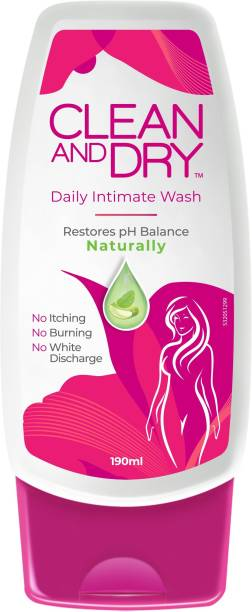 CLEAN AND DRY Intimate Wash Intimate Wash