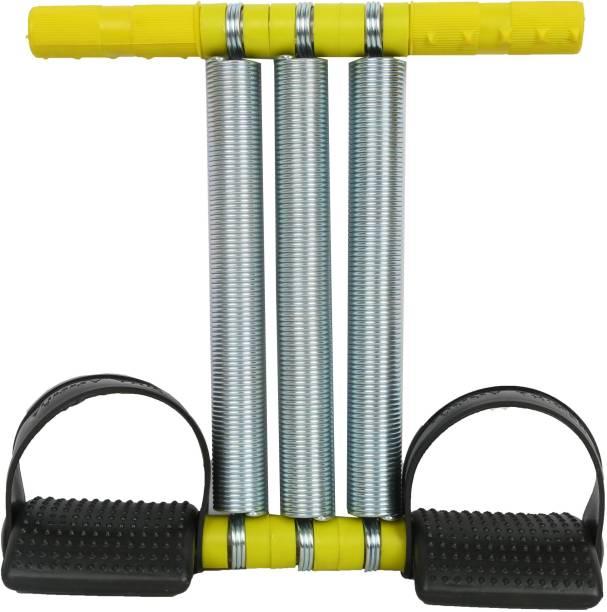 FITZILLA Tummy Trimmer Triple Spring Ab Exerciser Multipurpose Fitness Equipment-Unisex Ab Exerciser