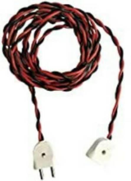 chaitanya Pvc Red, Black 12 m Wire