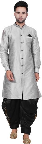 LIKE ONE Men Dhoti & Kurta Set