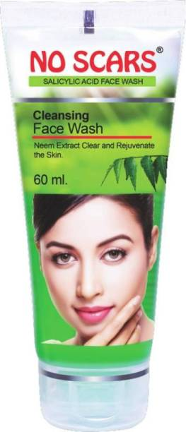 NO SCARS No_Scars Neem Extract FaceWash 1x60ml (Pack of 1) Face Wash