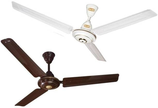 Polar 1200 mm ceiling fan high speed I Double Ball Bearing With 400 RPM 100 % Copper Winding Pack Of 2 1200 mm Ultra High Speed 3 Blade Ceiling Fan